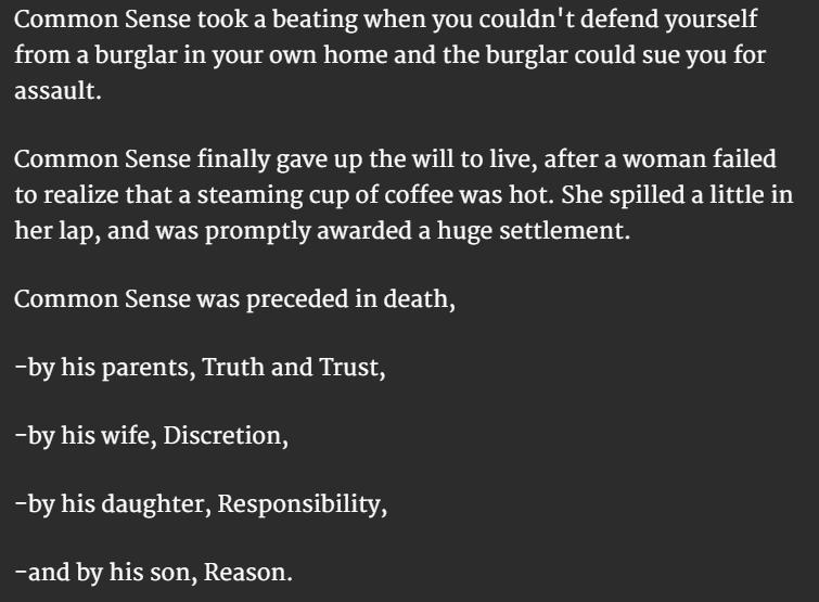 Common Sense 3