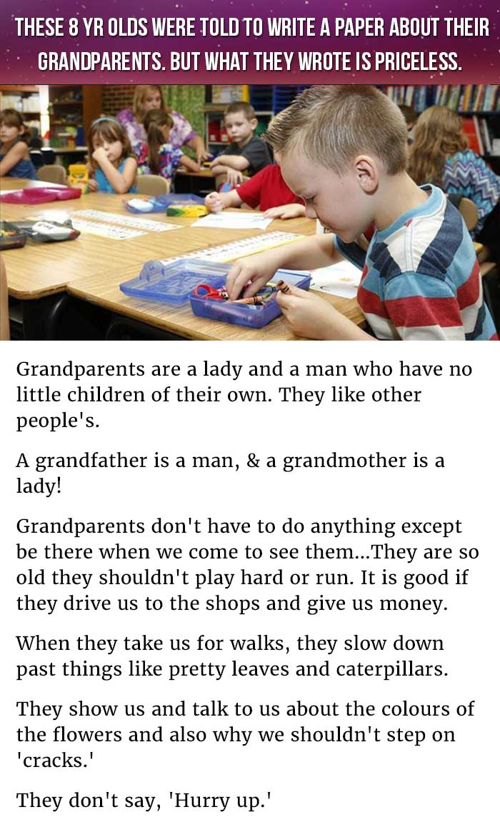 describing grandparents