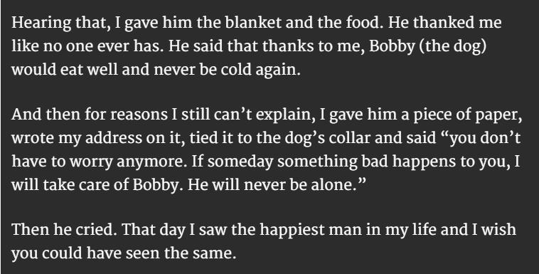 homeless man and dog 4