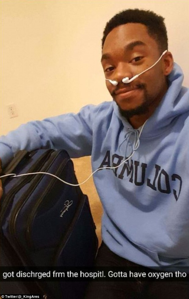 student fakes hospital visit