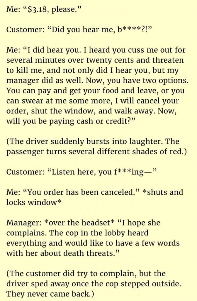 woman death threats 2
