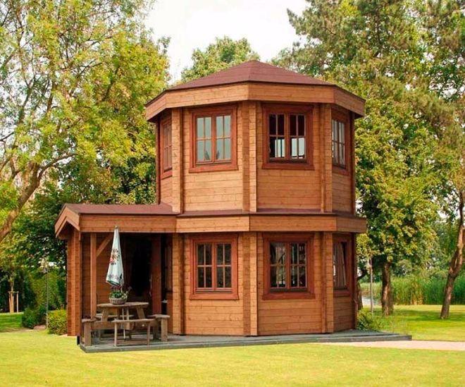Unique Octagonal Pavilion Design
