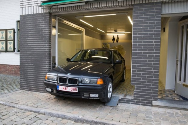belgian retiree garage