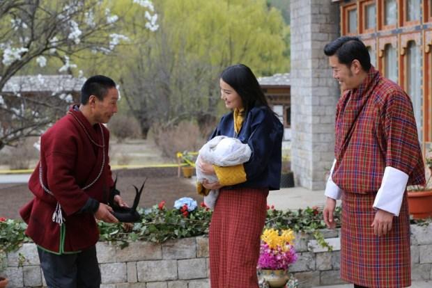 birth of bhutan prince
