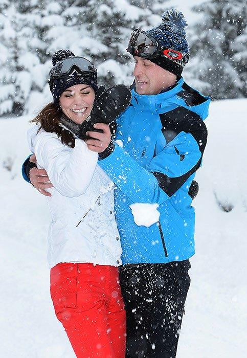 british royals skiing