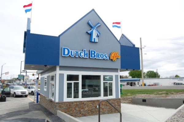 dutch brothers show kindness drive-thru