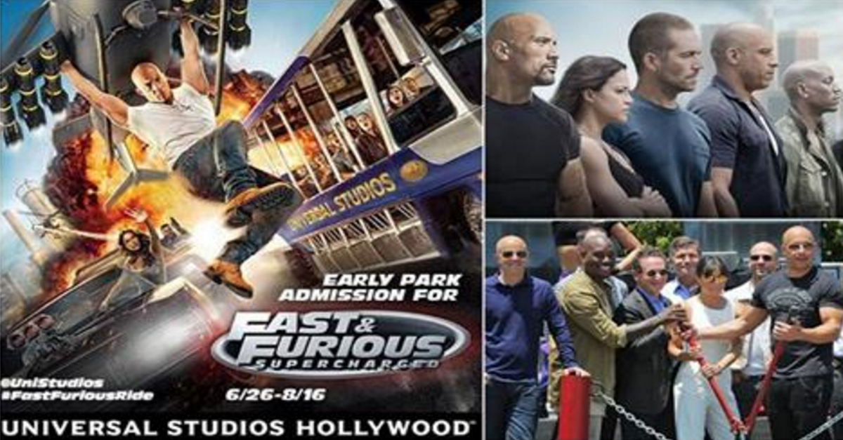 fast and furious supercharged the ride