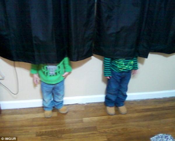 hilarious hide and seek