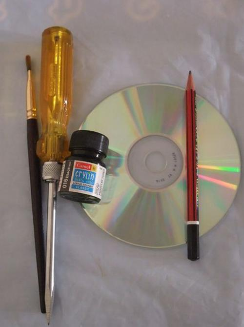 old cd crafts