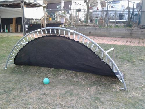 old trampoline ideas