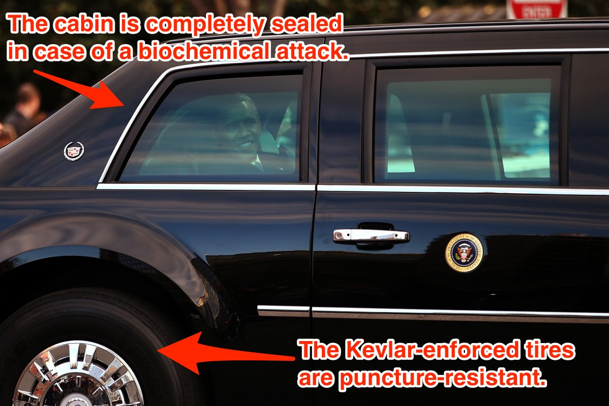 presidential car