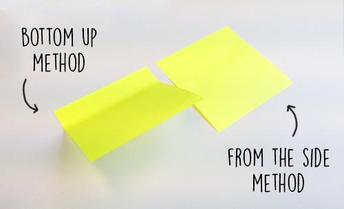 sticky notes hacks