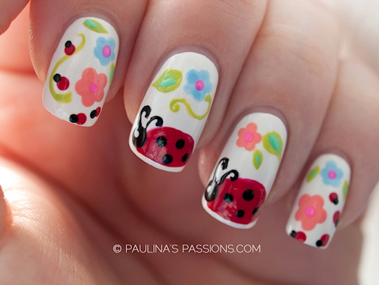 Insect-Inspired Nail Art