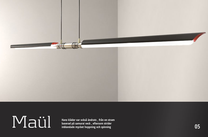 Light Fixtures Inspired By Star Wars