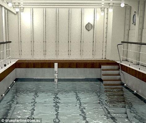 Titanic Exact Replica