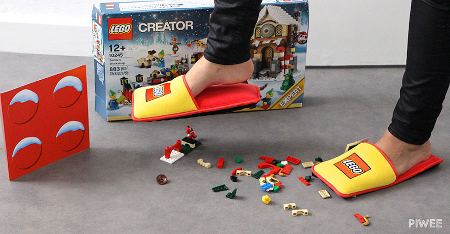 anti-lego slippers