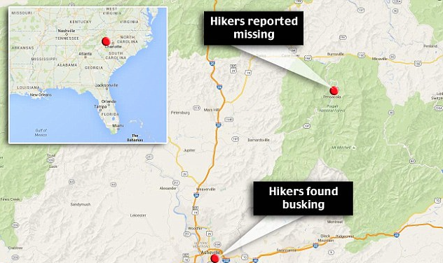 couple missing after hike