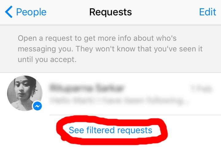 facebook secret inbox