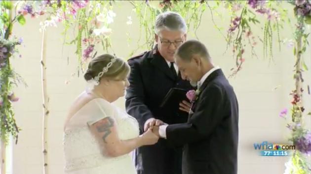 homeless couple dream wedding