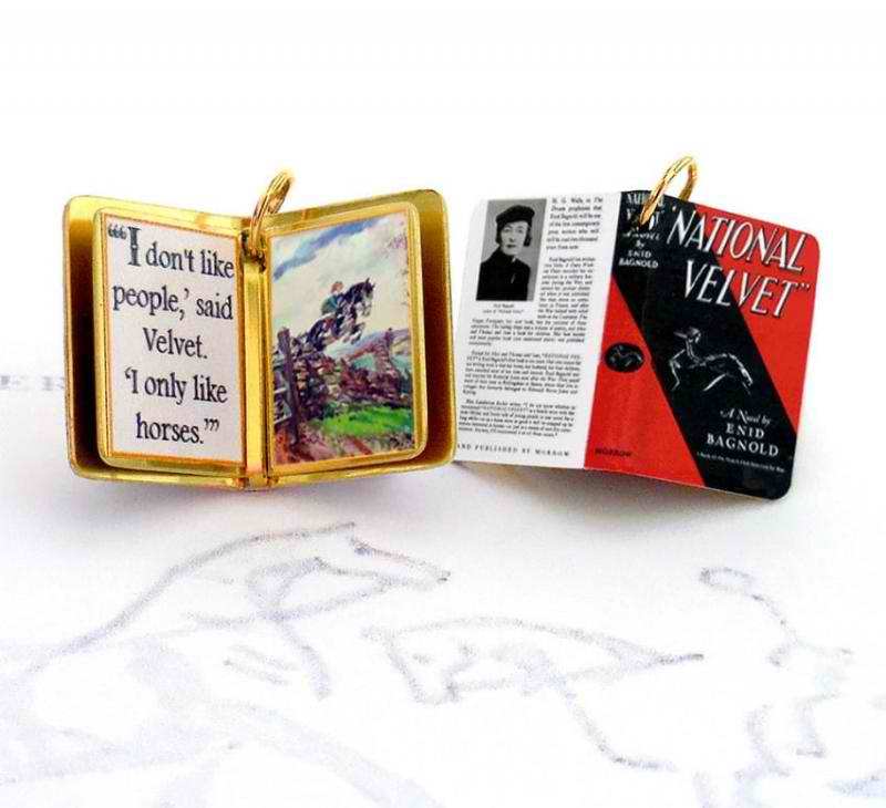 jewelry based on books
