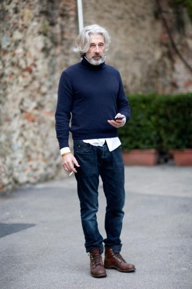 20 Incredibly Stylish Older Men Who Prove That Age Is No