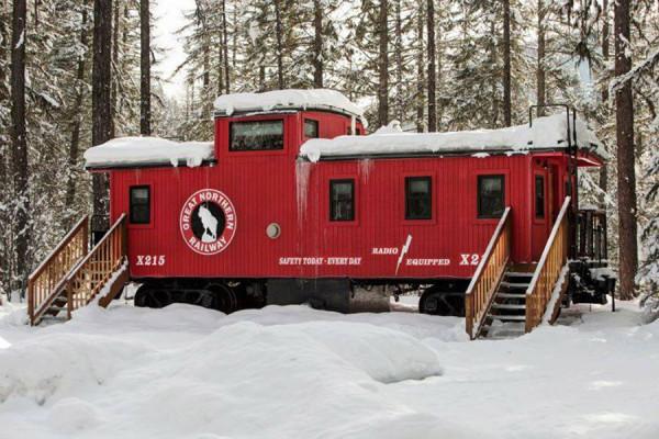 train homes