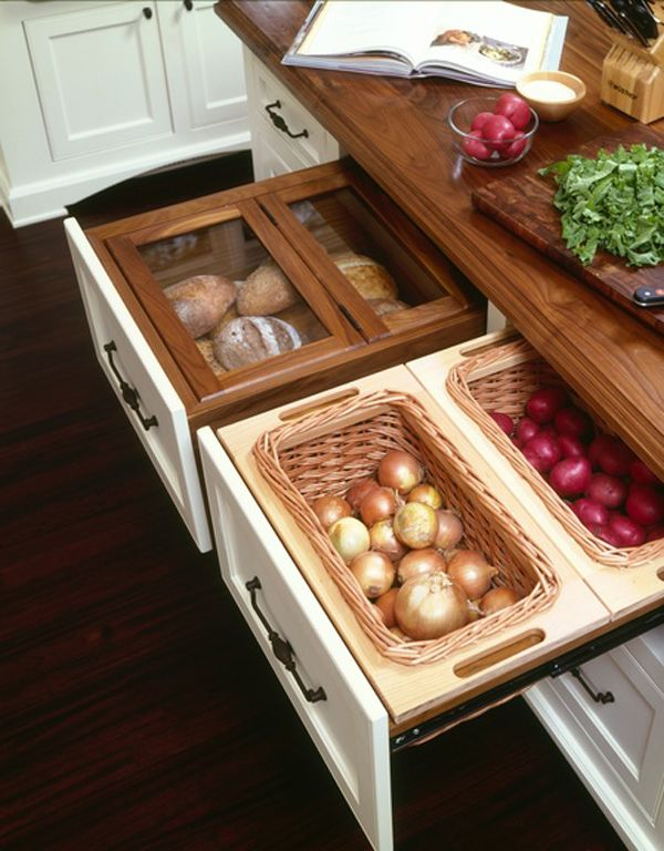 ways to save kitchen space