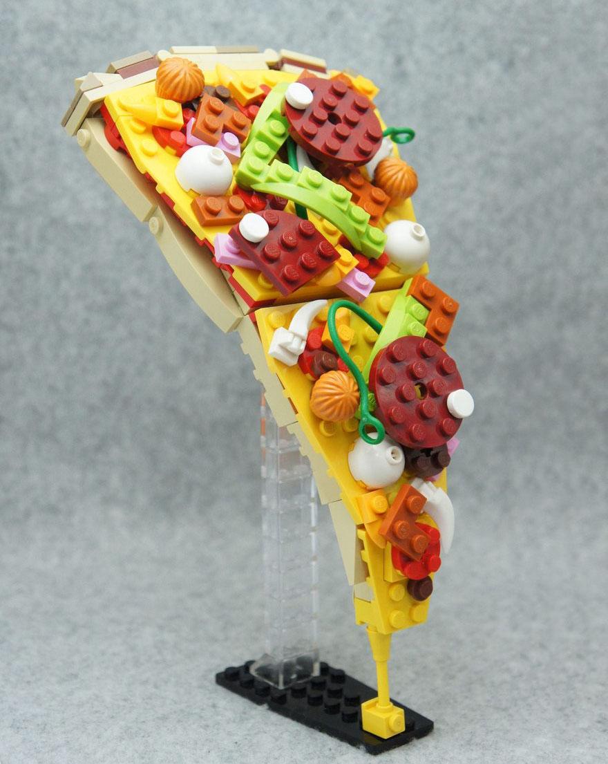 Delicious Lego Art