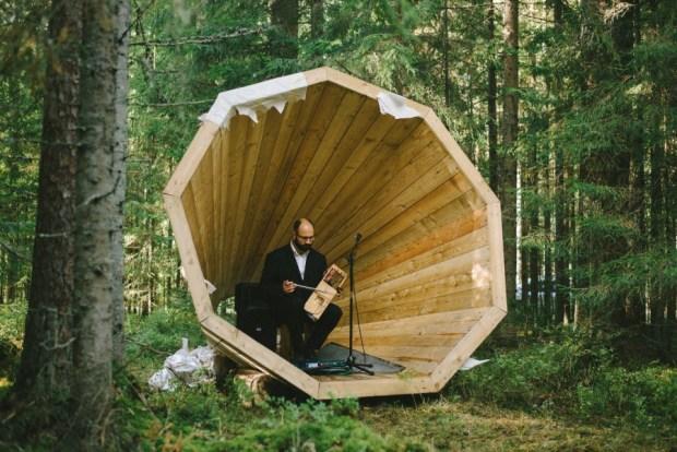 Wooden Megaphones