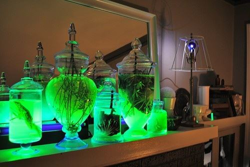 glowing jars perfect night lights
