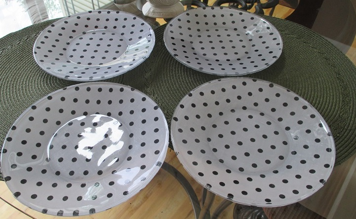 how to make designer glass plates