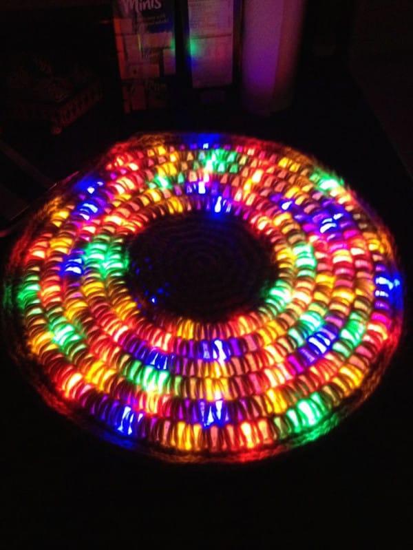 light up rug
