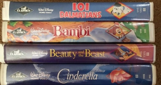 Disney VHS Tapes 3