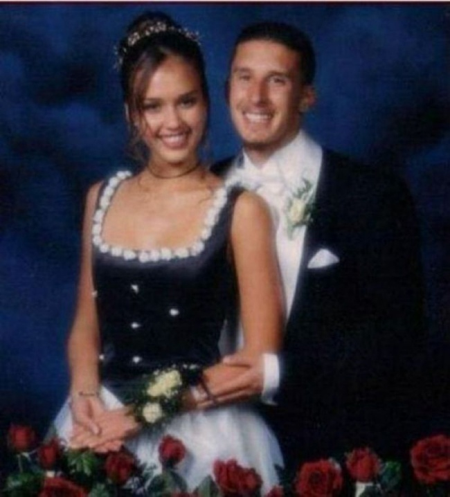 celebrity people on their prom night 12