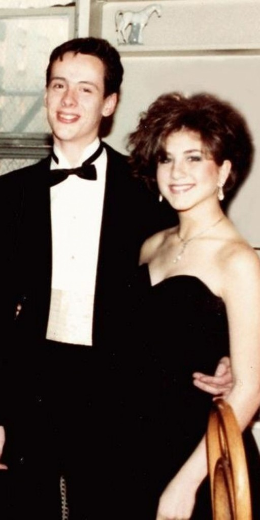 celebrity people on their prom night 2