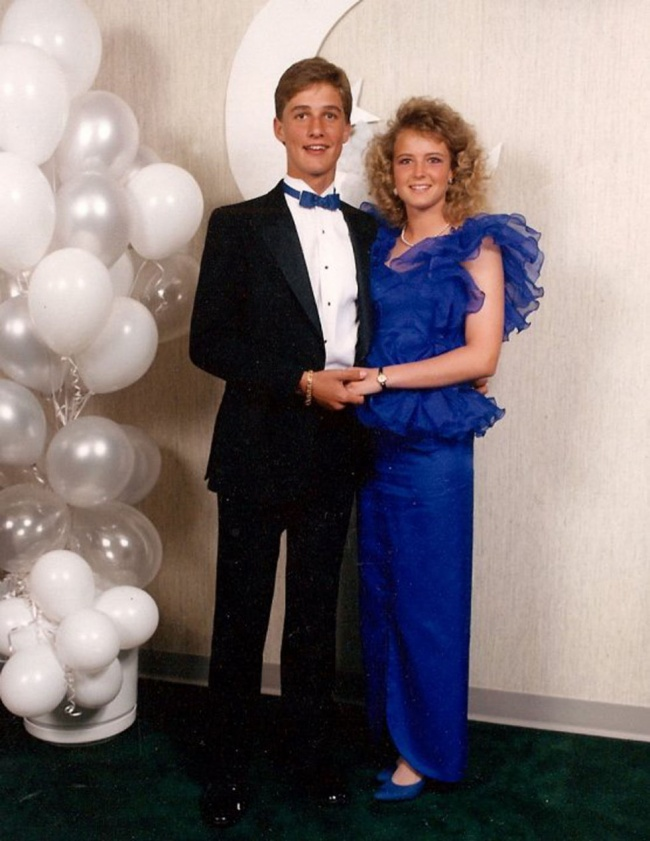 celebrity people on their prom night 3