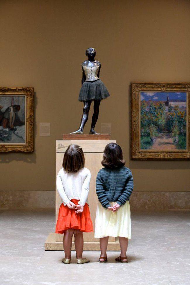 children who understand art