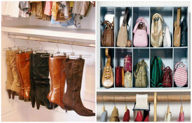 how to arrange your closet