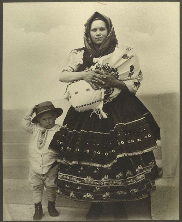 immigrants first picture in america