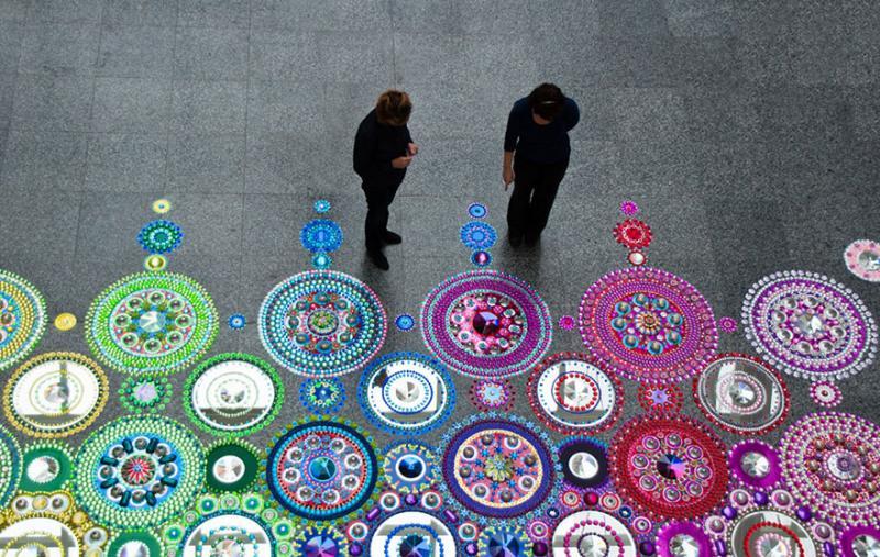 kaleidoscope art 10