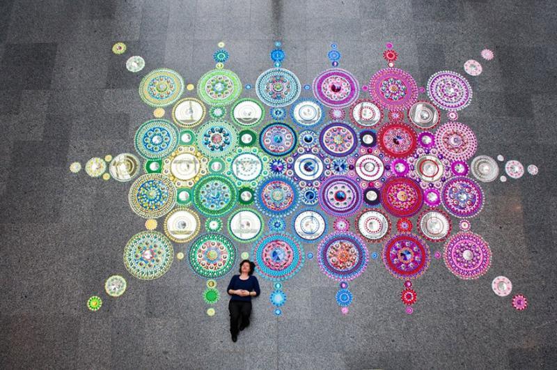 kaleidoscope art 9