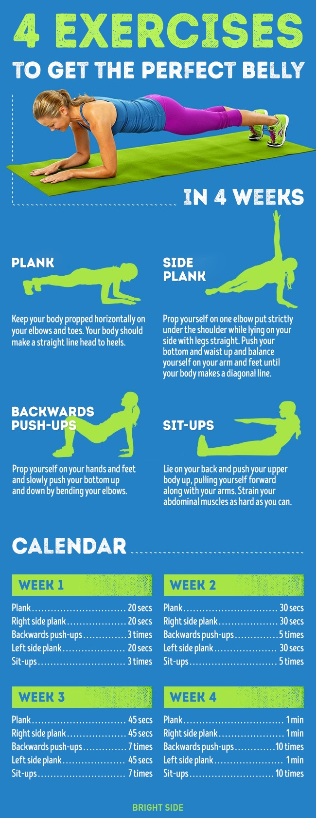 perfect belly exercise