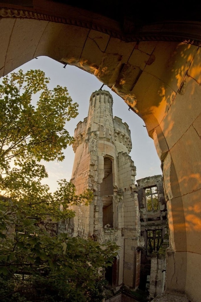 preservationists save forgotten castle 7