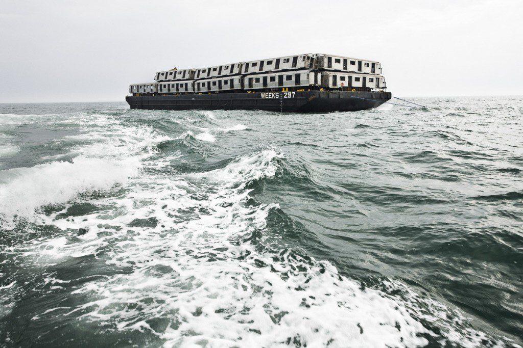 subway cars ocean