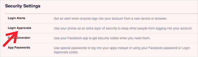 useful facebook settings