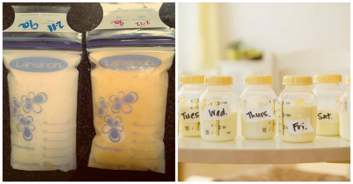 What To Do If Your Breast Milk Changes Color