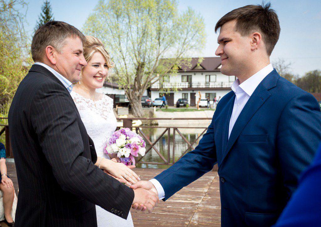 fathers advice on wedding