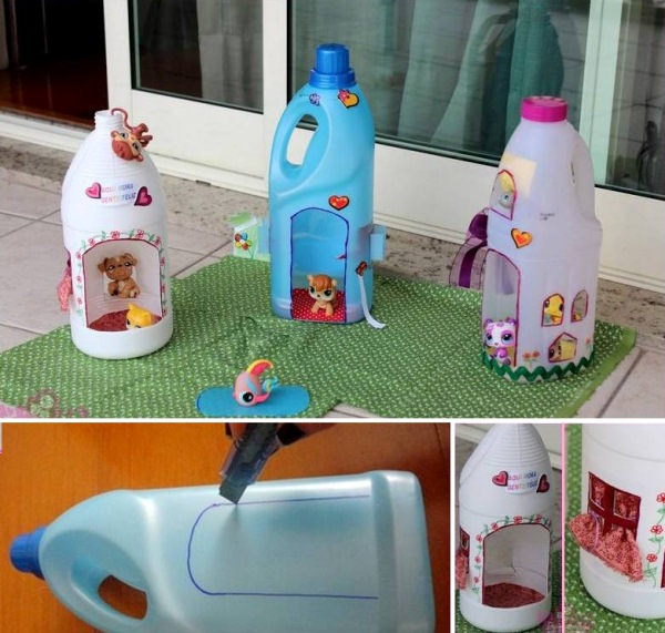 Ideas to reuse detergent bottles12