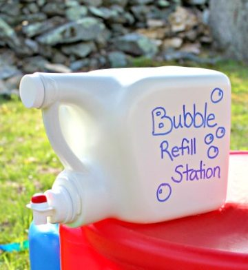 Ideas to reuse detergent bottles4