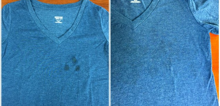 Oil stains removal1